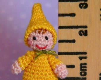 PDF PATTERN - Amigurumi Crochet Tutorial Pattern Miniature Baby Gnome