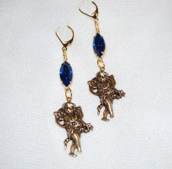 Baroque Cherubim Earrings