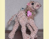 Mini Camel Crochet Pattern in Digital PDF format by Peggytoes 3 Sizes for KeyChain BackPack Purse Clip-On Toy Doll Ornament