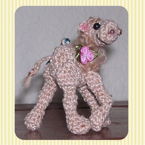 Items similar to Mini Camel Crochet Pattern in Digital PDF format by Peggytoe...