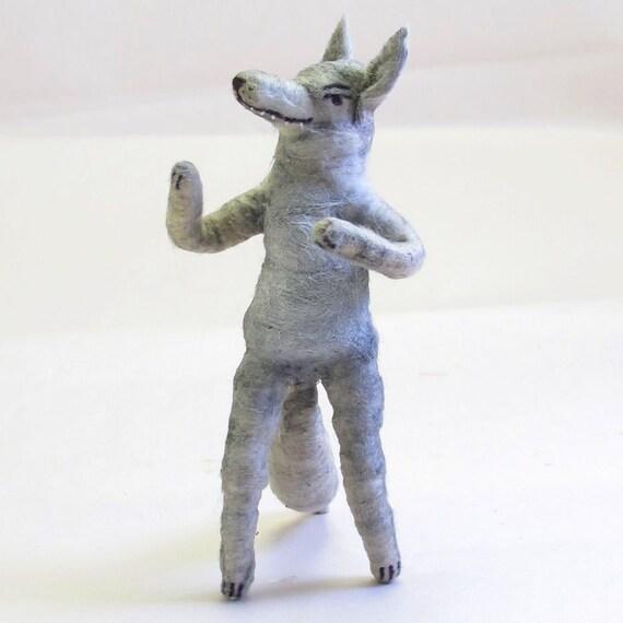 Spun Cotton Vintage Inspired Big Bad Wolf