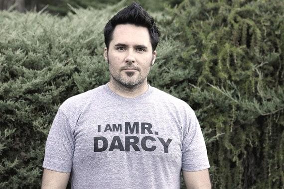 I Am Mr. Darcy- S.M.L.XL.2XL                 heather or charcoal grey