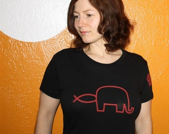 Fish in Elephant GNP shirt