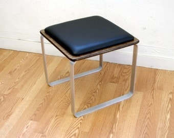 SALE until Oct 31 PLY BAK  Stool  Mid Century Modern Furniture