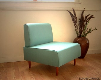 Bokz Lounge chair /  slipper chair  Classic Mid Century