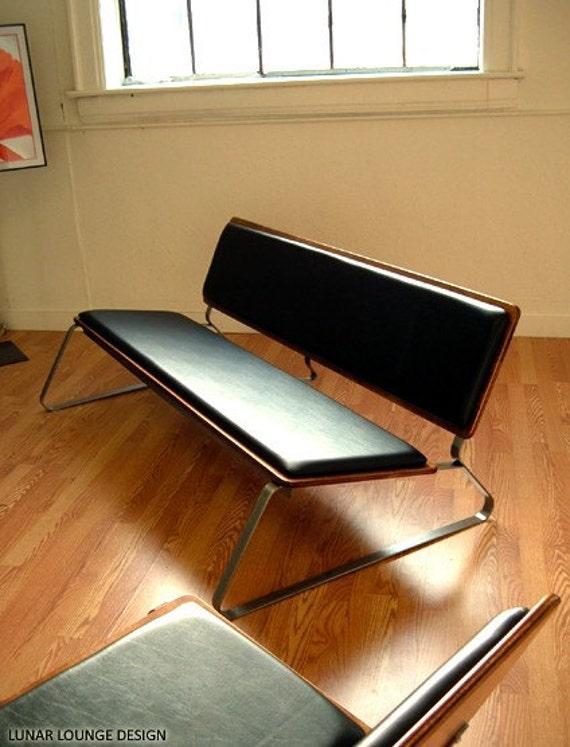 Ply Bak Sofa   Mid Century design by J Sebastian for Lunar Lounge