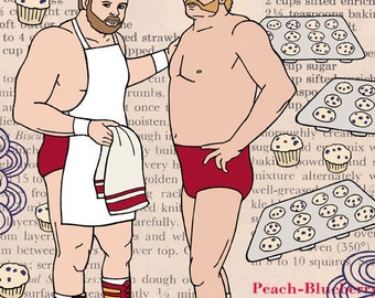 Arn and Ole Anderson Baked You Some Blueberry Muffins