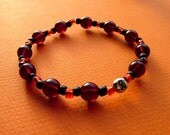 Blood Red Hope Cancer Awareness Bracelet
