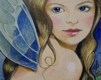 ACEO Print Fantasy Fairy Art By Melody Lea Lamb