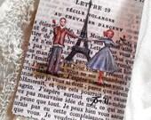 Open Edition ACEO Print - Paris, 1955 - Marcel et Janelle