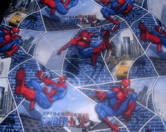 MadieB Spiderman Toddler Sheet Set or Crib Sheet Set