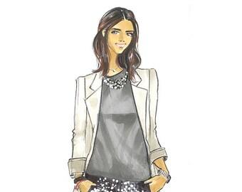 Leandra Fashion Illustration