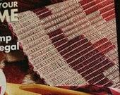 Weaving Handwoven Magazine May June 2008 Paper Original NOT a PDF