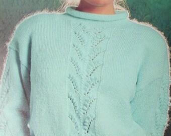 Sweater Knitting Patterns Vintage Ladies Beehive Patons 625 Vintage Paper Original NOT a PDF