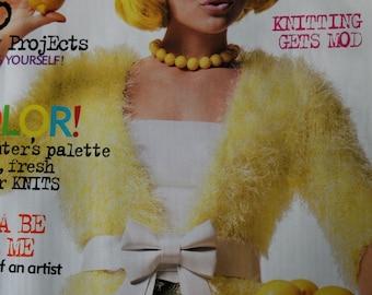 Knitting Patterns Knit 1 Magazine by Vogue Knitting Summer 2006 Paper Original NOT a PDF