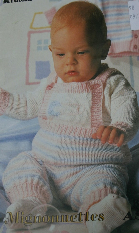 Baby Knitting Patterns Wee Wonders Patons Beehive 478 Sweater