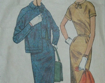 Simplicity 1769, 1950s dress and jacket