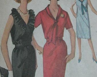 Simplicity 5513, 1960s shift dress