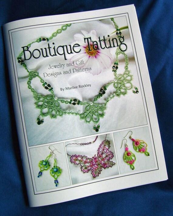 "Shuttle Tatting book ""Boutique Tatting"""