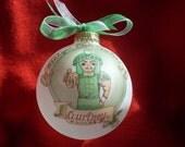 MICHIGAN STATE SPARTANS Original Handpainted Personalized Ornament