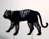 TIGER shadow puppet
