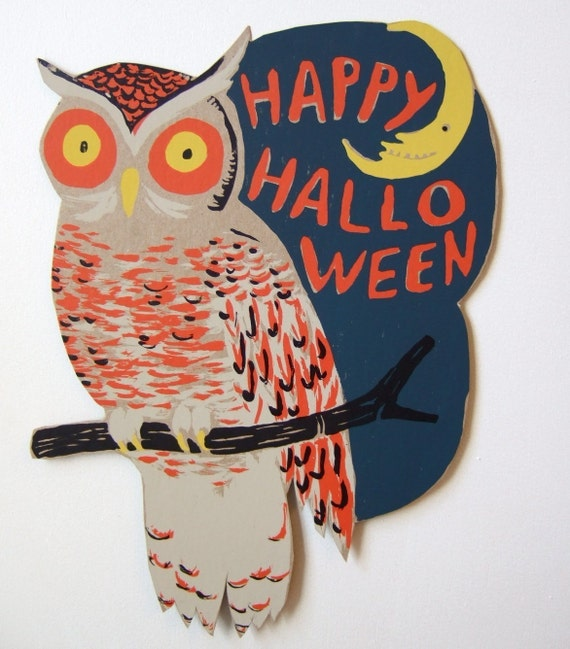 RESERVED FOR Jessica Halloween Owl