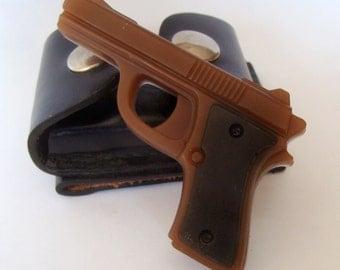 Gun Pistol Soap,  Scented  Soap Set,  Gift For Men, Glycerin Soap,  Deer Hunting, Police Officer Soap, Gag Soap, Brown Gun Soap, Fun Soap