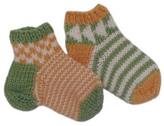 Pattern- Chippy Socks for Kids - PDF Download