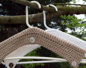 Crochet Hangers Cover Pattern PDF Pattern Instant Download Covered Hangers Laundry Home