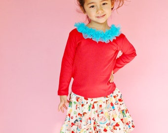 Candy Shop Skirt Set Holiday Twirl Custom 12m to 4T