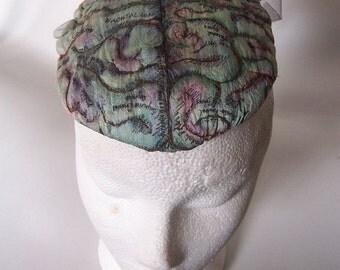 Gothic Anatomica ANTIQUE BRAIN HAT