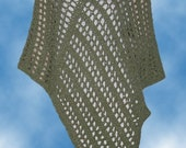 Crochet Poncho Pattern, Mountain Meadow