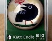 iPOP Big Clicks Crow magnet
