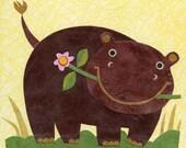 Hugely Happy Hippo-Who Hoo Series