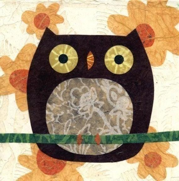 Owl Orangina