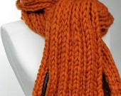 Dick and Jane Scarf Orange You Glad