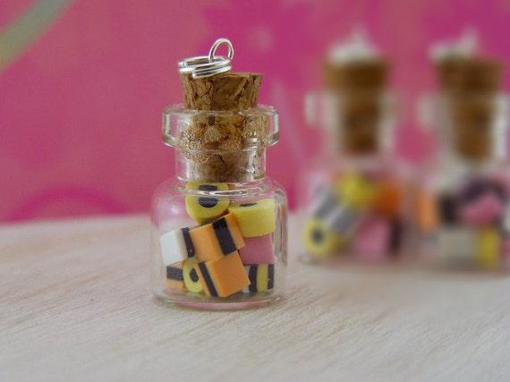 Liquorice Allsorts Bottle Charm