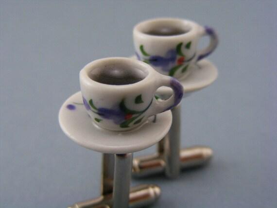 Black Coffee Cufflinks