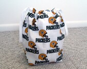 MOVING SALE - Green Bay Packers Drawstring Knitting Project Bag