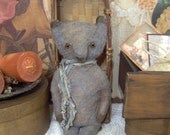 Primitive Bear E Pattern Cotton Batting Teddy plus directions to tint teddy with color included