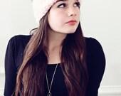 Chic Bow Knitted Head Wrap or Warmer Headband - knitting PATTERN - pdf format