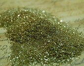 Glorious Gold  Vintage German Glass Glitter