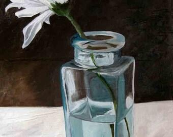 print - chrysanthemum - print of original painting