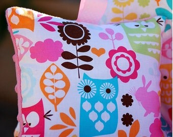 Boutique shopping cart cover  Shopping Cart Cover for Girls -  Watermelon Forest - Owls