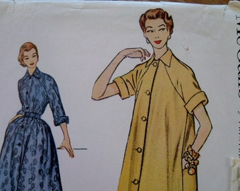 1950's McCall's 9721 Pattern - Housecoat Duster Dress