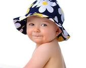 Sun Hat Pattern Baby Toddler Children - Reversible - PDF Sewing Pattern