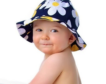 Sun Hat Pattern Baby Toddler Children - Reversible - PDF Sewing Pattern