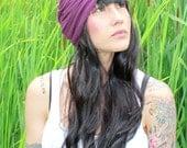 Knit Turban - Purple