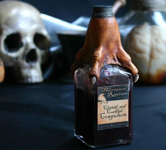 Clotted and Curdled Coagulum Curiosity Bottle