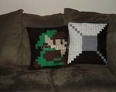 Legend of Zelda 2 pillow set
